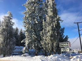 Pines Motel, Sicamous