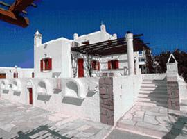 Villa Vasilis, Mykonos miestas