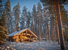 Laukkala Cottages Reindeers & Husky