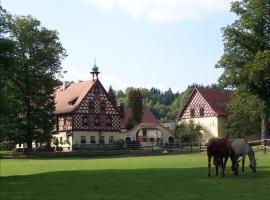 Penzion Štekrův Mlýn, Franzensbad