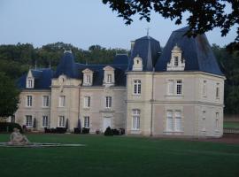 Chateau de Jalnay, Glénouze
