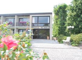 Land-gut-Hotel Nordsee, Hotel Schild