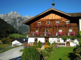 Ferienhaus Höchhäusl, Werfenweng