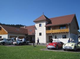 La Tour du Coq Doré, Granges-Narboz