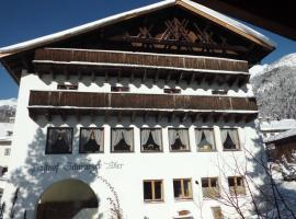 Hotel Schwarzer Adler, Pettneu am Arlberg