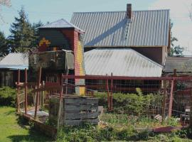Earth Club Factory Guesthouse, Denman Island