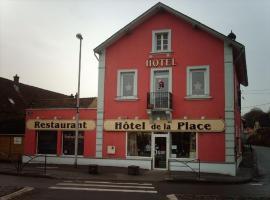 Pension Hotel Restaurant de la Place, Voujeaucourt