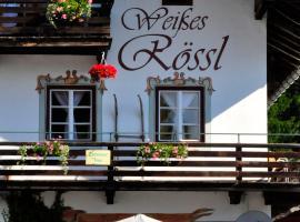 """""""0"""" Sterne Hotel Weisses Rössl in Leutasch/Tirol, Leutasch"""