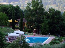 Villa Borgo, Borgo alla Collina