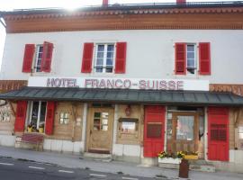 Hotel Arbezie Franco Suisse
