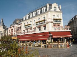 Hotel Le Central, Trouville-sur-Mer