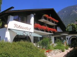 Hotel Föhrenhof Garni, Farchant