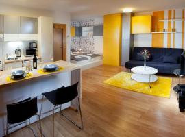 Orange & Yellow Apartments