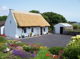 An Caladh Gearr Thatch Cottage, 스피덜