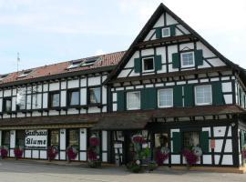 Hotel Landgasthof Blume, Lichtenau