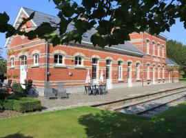 Station Racour, Landen