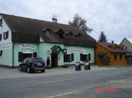 Penzion a restaurace Myslivna, Velký Újezd