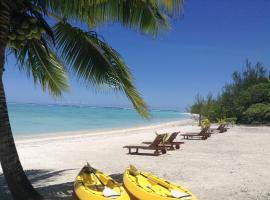 Aitutaki Seaside Lodges, Arutanga