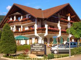 Hotel Schwarzenbergs Traube, Glottertal