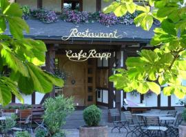 Hotel Restaurant Café Rapp, Königsfeld im Schwarzwald