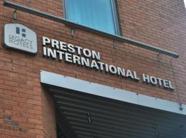 Legacy Preston International Hotel, Preston