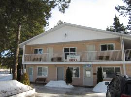 Whispering Pines Motel & Cabins, Topley