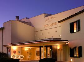 Gran Hotel Rey Don Jaime, Kasteļdefelsa