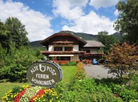 Ferienhof Alte Post, Weissbriach
