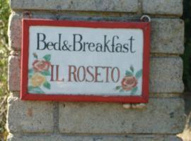 BeB il Roseto, Orte
