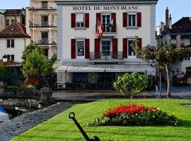 Romantik Hotel Mont Blanc au Lac, Morges
