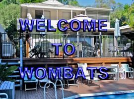 Wombats Bed & Breakfast - Apartments, Gosford