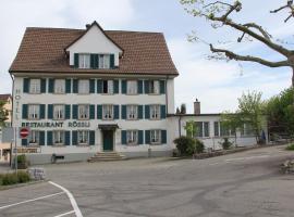 Hotel Restaurant Rössli, Schönenberg