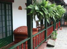 Hotel Boutique La Posada Del Angel, Zipaquirá