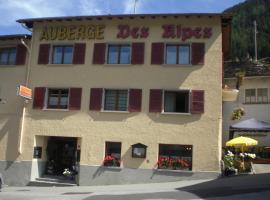 Auberge des Alpes, Liddes