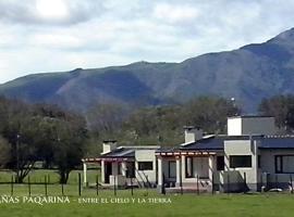 Cabañas Paqarina, Tafí del Valle