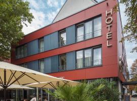 Die 30 g nstigsten hotels in freiburg im breisgau baden for Designhotel stadtgarten freiburg