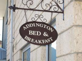 Addington bed and breakfast