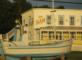 Auberge du Café chez Sam, Baie-Sainte-Catherine