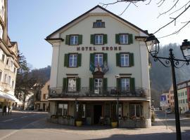 Hotel Garni Krone, Bad Ragaz