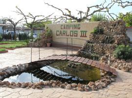 Camping Carlos III, La Carlota