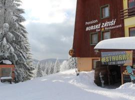 Pension Horske Zatisi, Horni Misecky