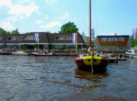 Hotel Restaurant Ie Sicht, Oudega