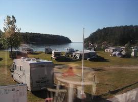 Morvigsanden Camping, Grimstad