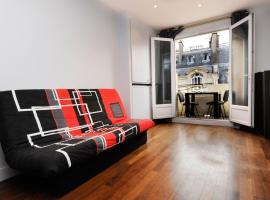 Studio charmant avec balcon et vue sur Tour Eiffel