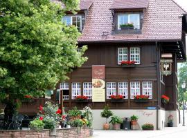 Schwarzwaldgasthaus Goldener Engel, Glottertal