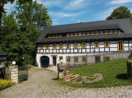 Pension Blaue Mühle, Grund