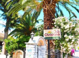 Villa Christina, Asíni
