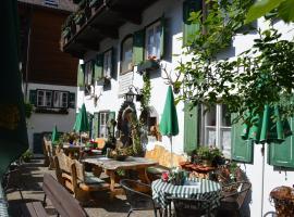 Platzhirsch zur alten Wagnerei, St. Wolfgang