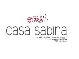 Casa Sabina, Alcalalí