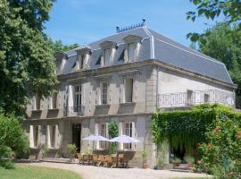 Château de Dournes, Blan